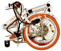 Электровелосипед MELES white