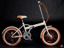 Складной велосипед MELES white